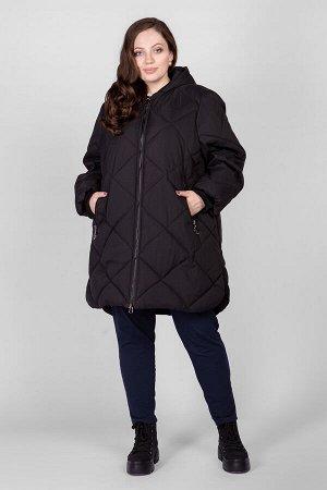 Пальто PL25333BLK01