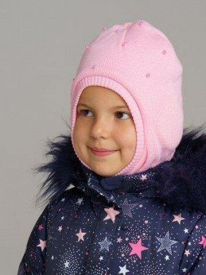 Шапка детская трикотажная для девочек