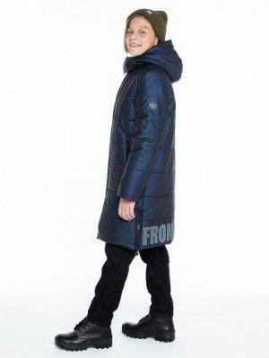 Пальто 6з2921 синий