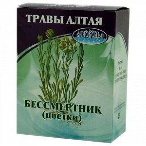 Бессмертник, цветки, 25 г, коробочка, чайный напиток
