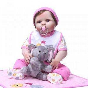 Кукла Ева Кукла-Реборн Ева Реборн (Reborn) ― означает «рождённый заново», куклы Реборн представляют собой имитацию ребёнка-младенца, выполненную максимально реалистично Тело силиконовое Изготовлена с
