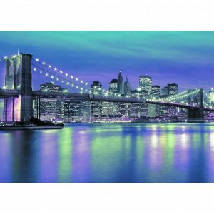 Фотообои Бруклинский мост ночью