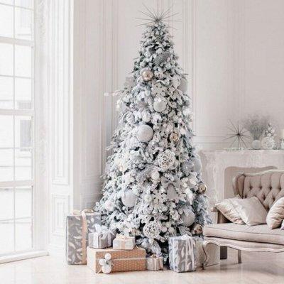 Ели Peneri — искусственные елки Российского производства — Белые елки