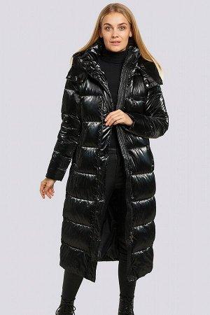 Черный Длинное зимнее пальто-это одно из самых популярных видов верхней одежды. Такая вещь любима девушками за практичность, модный вид, хорошую сочетаемость почти с любым видом гардероба. Актуальная