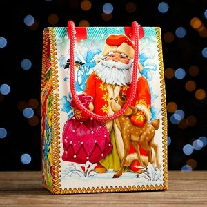 """Новогодний подарок """"Дедушка с подарком"""" 200 г"""