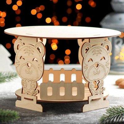 Праздник 🥳 приходит с тигром- подарки с символом года — Сервировка стола