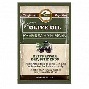 Питательная маска для волос с маслом оливы Difeel Olive Oil Premium Hair Mask, 50 г
