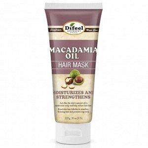 Питательная маска для волос с маслом макадамии Difeel Macadamia Oil Premium Hair Mask, 236 мл