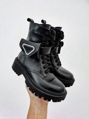 Ботинки PRAvDA черный зима