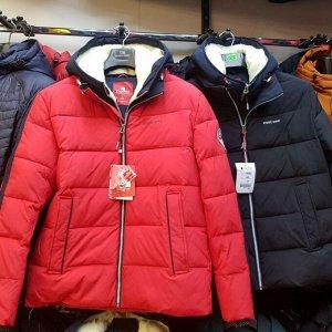 Мужская зимняя куртка с капюшоном от Kings Wind
