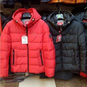 Мужская зимняя спортивная куртка Kings Wind, с капюшоном