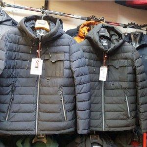 Мужская демисезонная куртка Kings Wind, с капюшоном. Такая стильная! Смотри ВИДЕО-ОБЗОР