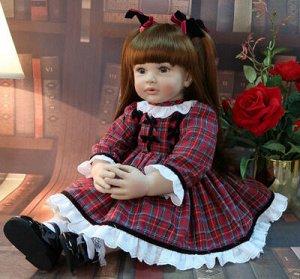 Кукла Алла Кукла-Реборн Алла Реборн (Reborn) ― означает «рождённый заново», куклы Реборн представляют собой имитацию ребёнка-младенца, выполненную максимально реалистично Тело силиконовое Изготовлена