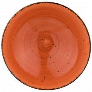 """Салатник """"nature"""" 16,5см, оранжевый"""