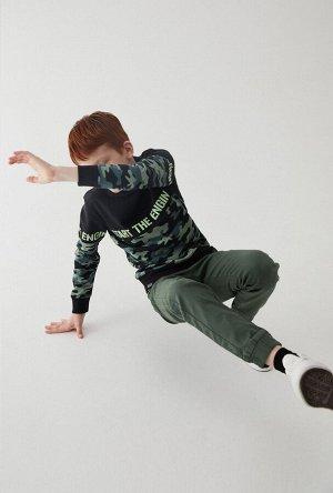 Брюки детские для мальчиков Raf хаки