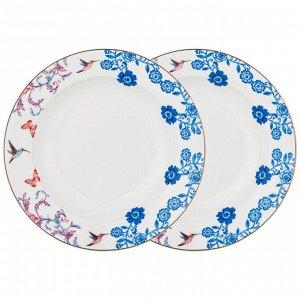 Тарелка суповая lefard 20,5 см