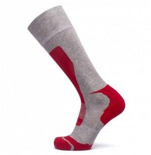 Термо-носки унисекс, цвет серый/красный