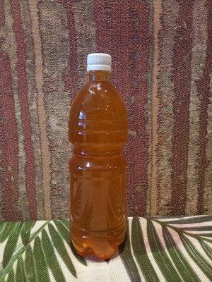 Мед липовый ( сбор 2021) 1.5л бутылка(примерно 2100кг!)