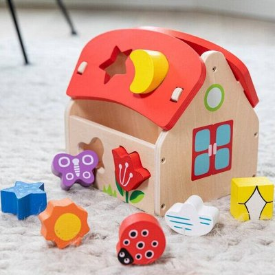 ✌ ИгроЛенд*Мир детских вещей и канцелярии — Развивающая игрушка-сортер
