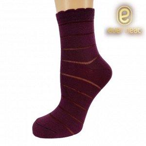 Носки жен 21-038 (ЕН) бордовый