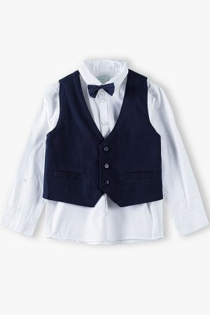 Комплект (рубашка, жилет) для мальчиков