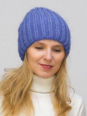 Шапка зимняя женская Жасмин (Цвет фиолетовый)