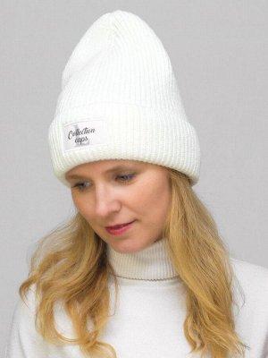 Шапка зимняя женская L-Collection (Цвет белый)