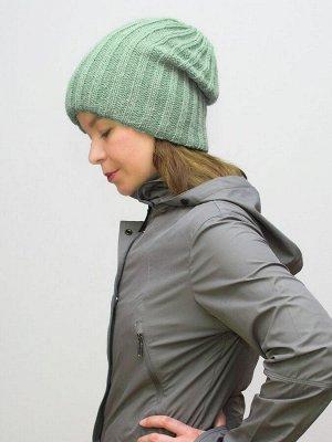 Шапка зимняя женская Жасмин (Цвет зеленый)
