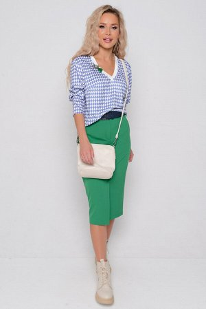 КОФТА Длина блузы измеряется по спинке от основания шеи до низа изделия.   Для размера 42 длина блузы составляет 60 см; для размера 44 - 61 см; для размера 46 - 62 см; для размера 48 - 63 см; для разм