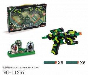 Игровой набор Junfa 2 космобластера, мишень и 12 мягких пуль222
