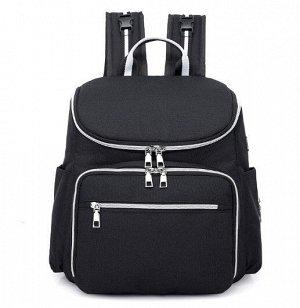 Сумка-рюкзак для мам, цвет черный