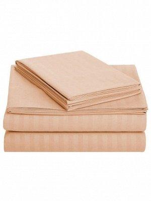 Простыня евро 220/240  ткань сатин