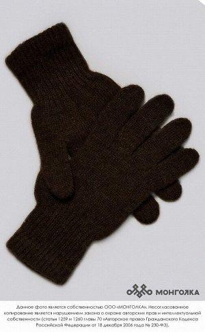 Перчатки взрослые  из 100%  монгольской шерсти