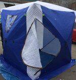 Палатка куб утепленная