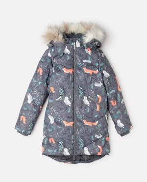 Пальто зимнее для девочки Crockid ВК 38067/н/3 ГР