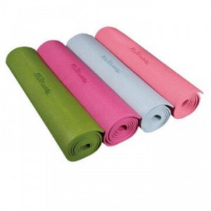 Коврик для йоги ПВХ MD Buddy MD9010 зеленый 6 мм
