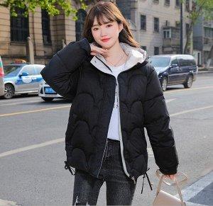 Женская демисезонная куртка, цвет черный