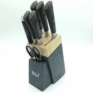 Набор ножей BASS 7 предметов в подставке