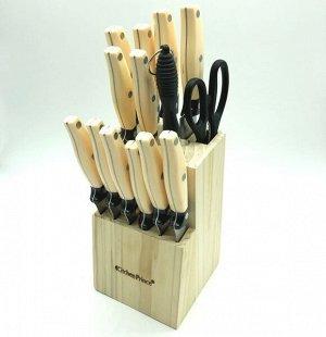 Набор ножей 14 предметов в подставке