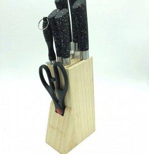 Набор ножей 7 предметов в подставке