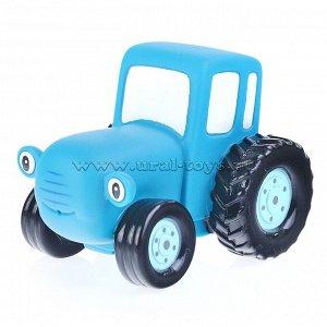 """Игрушка для ванной """"Синий трактор"""" 10 см, сетка"""