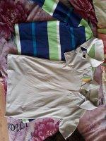 Серая рубашка-поло для мальчика Цвет: светло-серый