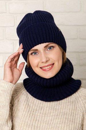 Комплект комплект (зима), глубокий синий, подклад флис