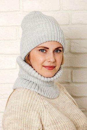 Комплект комплект (зима), серый, подклад флис