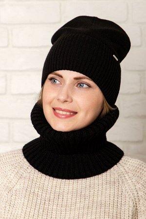Комплект комплект (зима), чёрный, подклад флис