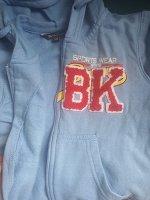 Комплект 2-х предметный (джемпер, брюки)  голубой