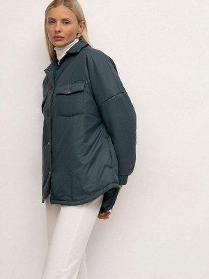 Куртка рубашечного кроя N012/atoms
