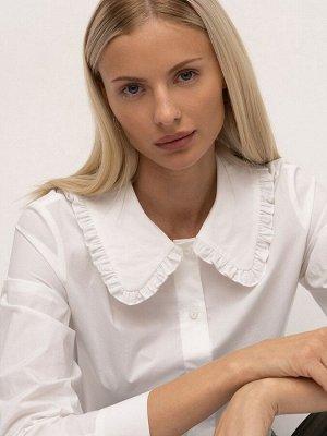 Рубашка однотонная B2696/after