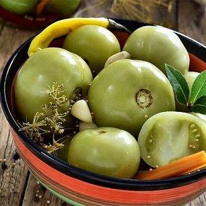 Томаты соленые 1 кг.  (зеленые)