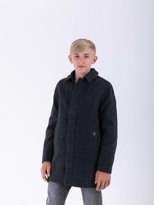 101348/1 (черный) Пальто для мальчика